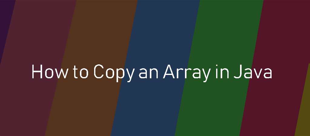 System.arraycopy() Examples in Java | Java Example Programs