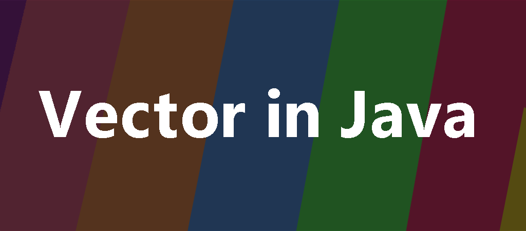 vector in java