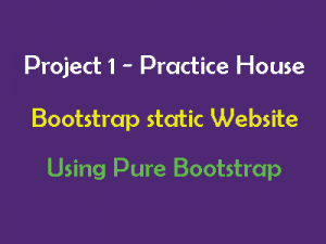 bootstrap-static-website-example-project-real-life-project